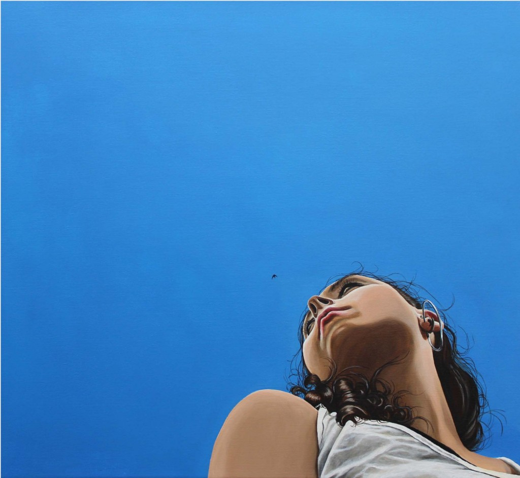 INTO THE SKY Selbstportrait