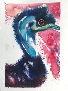 Vogel Strauß 1