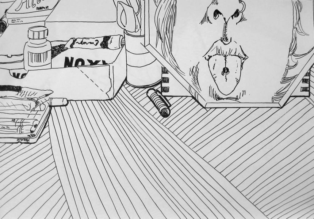 Boredom #1 Zeichnung Anna Knodt