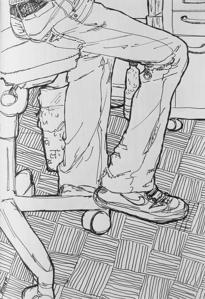 Boredom #4 Zeichnung Anna Knodt