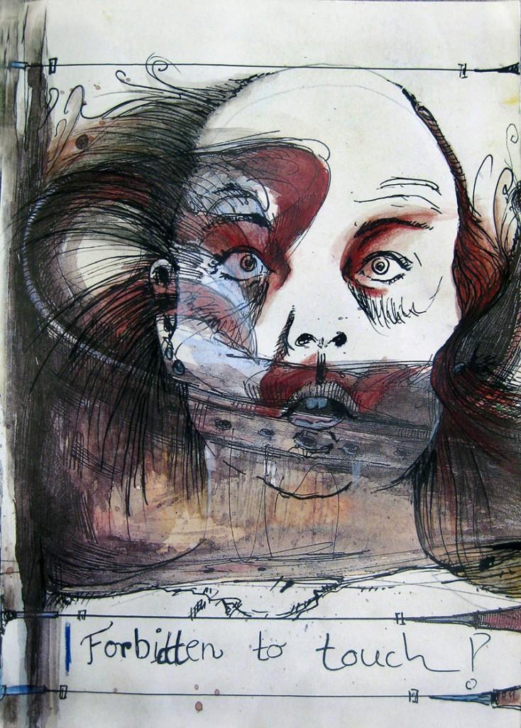 Nimm mich wie ich bin #5 Malerei Anna Knodt