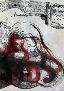 Nimm mich wie ich bin #7 Malerei Anna Knodt